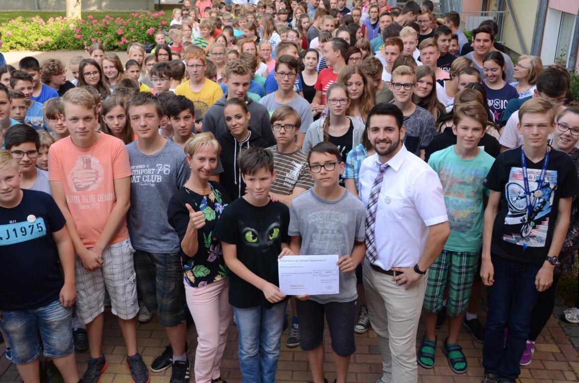 Prösener Schüler liefen für guten Zweck